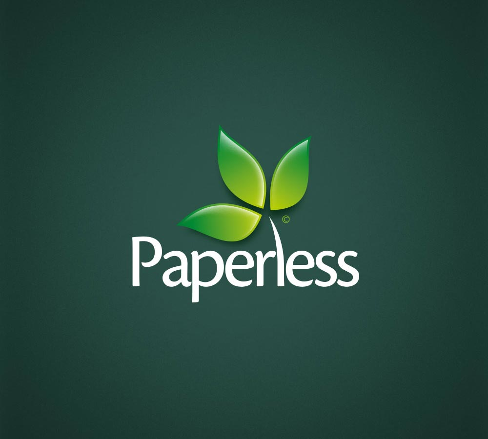 The Paperless Logo